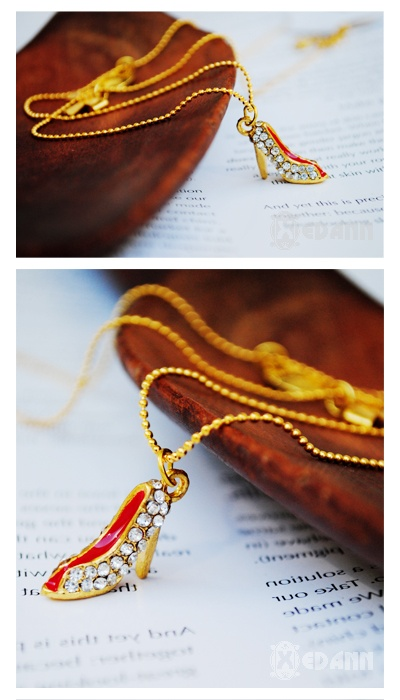 Cinderella Shoe Necklace - Php 150
