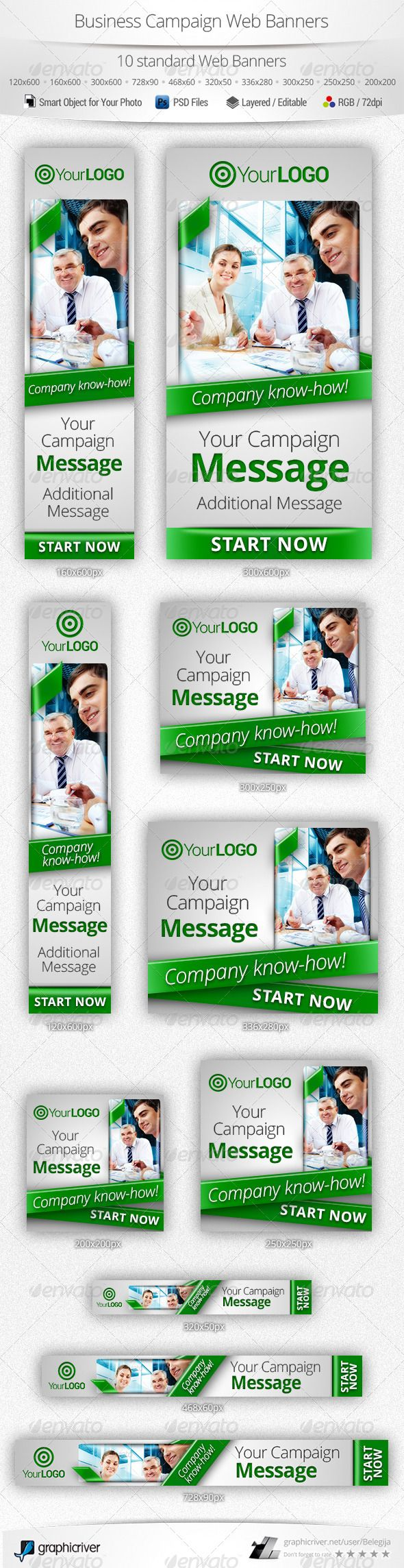 Business Campaign Web Banners Template PSD | Buy and Download: http://graphicriver.net/item/business-campaign-web-banners/5744153?WT.ac=category_thumb&WT.z_author=Belegija&ref=ksioks