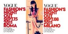 Vogue Fashion Night Milano/Roma