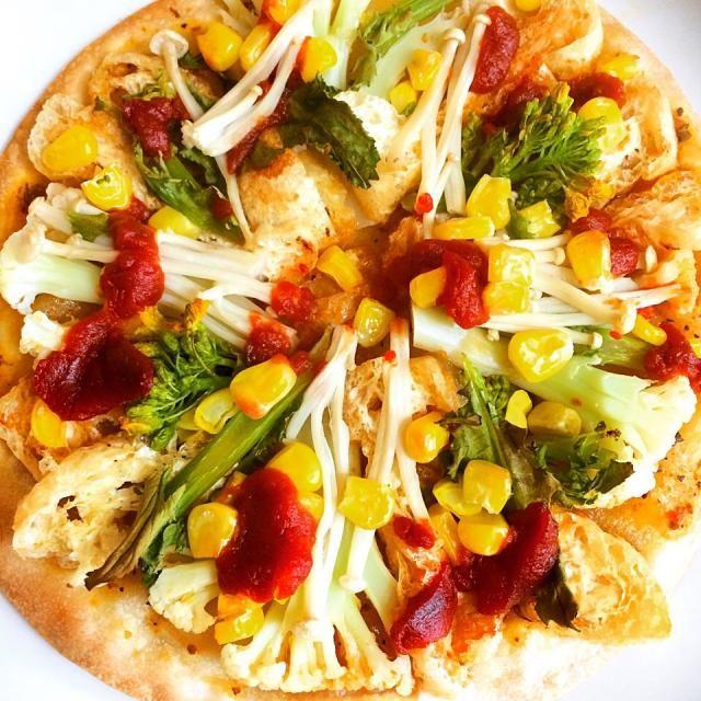 動物性ゼロです! - 18件のもぐもぐ - veganトマトピザ♡ベジタリアン、ビーガン by japananimal28