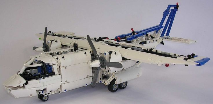 TechLug.fr - Review Lego Technic #42025 Avion cargo