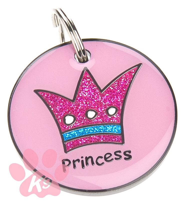 Princess ID tag available at www.hampaws.com