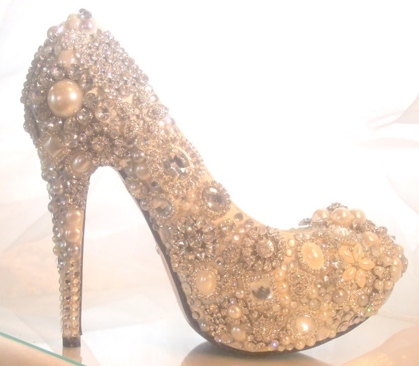 Cinderella wedding heels