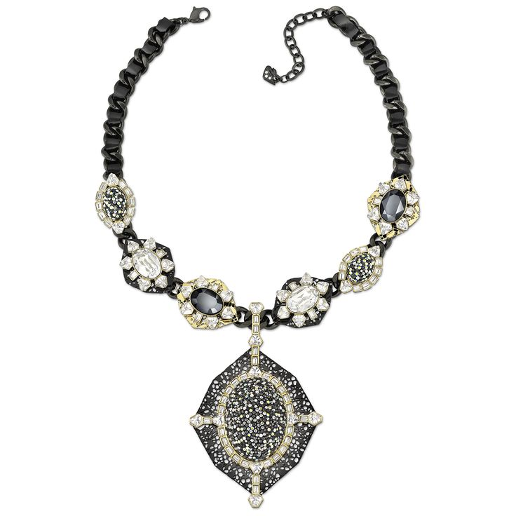 VERMEIL necklace with removable brooch