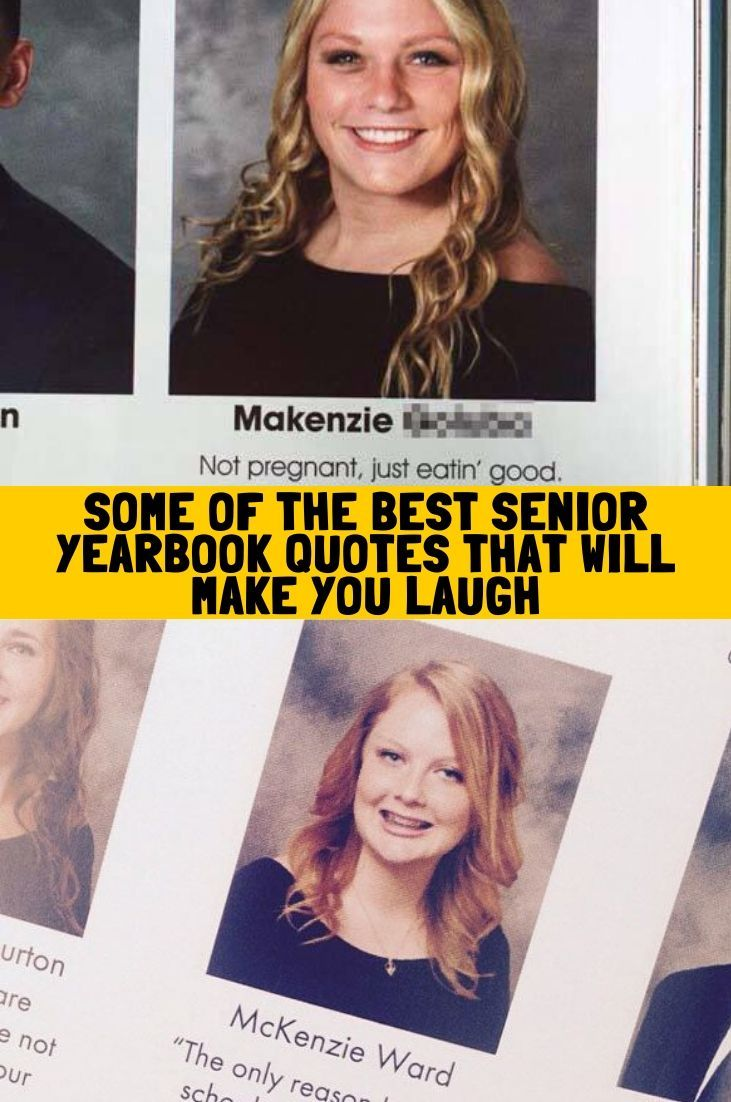 Some Of The Best Senior Yearbook Quotes That Will Make You Laugh Senior Yearbook Quotes Yearbook Quotes Natural Makeup Looks