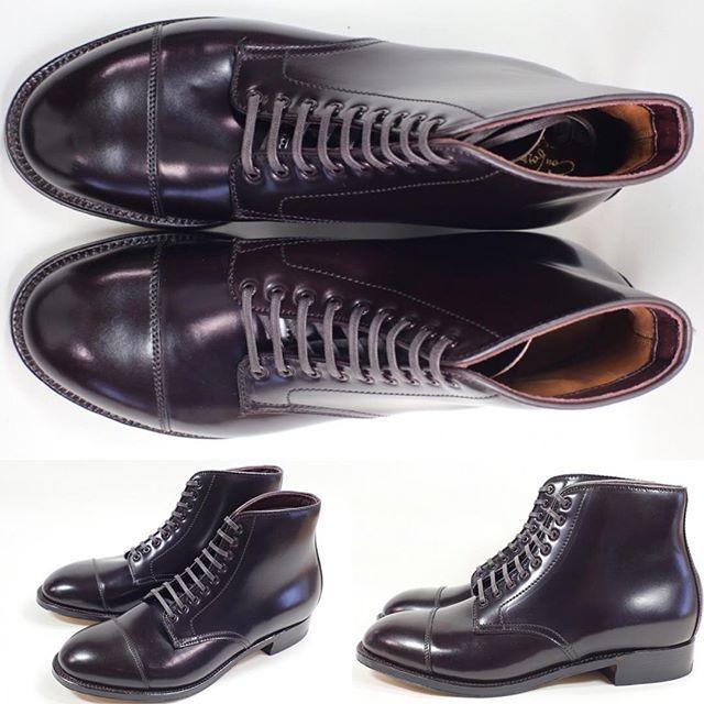 2017/11/04 00:31:22 shoesaholic1 ALDEN CORDOVAN BOOTS. * 最近、試着程度のオールデンが続々と入荷していますが、続々と完売しています。 * こちらはまだ在宅ありのオールデンですが、モディファイドのコードバンブーツで、非常にエレガントです😁 * ITEM ID : 415 * #alden  #cordovan  #コードバン  #シューホリック #shoes #Mensshoes #shoepolish #boots  #Mensfashion #bespoke #tailar #stylish #fashiongram #instastyle #lookbook #luxury #gentleman #styleforum #ootd #高級靴 #靴磨き #足元くら部 #足元倶楽部  #高級 #オールデン #パラブーツ #ジョンロブ #エドワードグリーン  #クロケットアンドジョーンズ