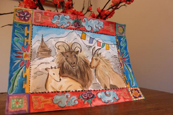 Marchs offering has a Tibet inspired version of The Three Billy Goats Gruff including: a large print and postcard size of the painting, puppets, a fun retelling of the story and a spring inspired circletime with ties to the story. This set is great from ages 2.5 through 8. The file is 11 pages.