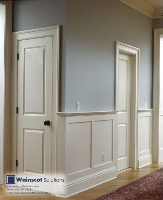 12 Best Faux Wainscoting - DIY Images On Pinterest