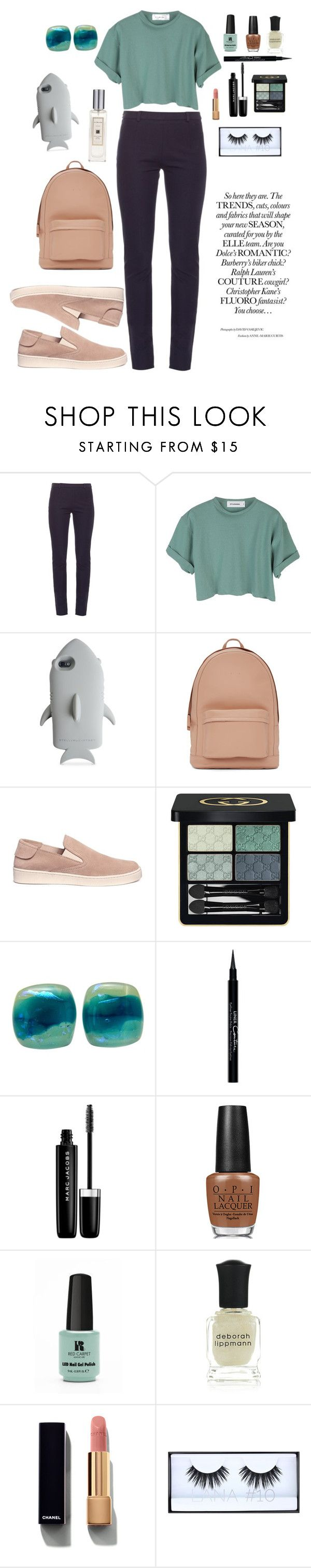 """""""Modestovna #144"""" by anna-modestovna ❤ liked on Polyvore featuring Roland Mouret, StyleNanda, STELLA McCARTNEY, PB 0110, Pedro García, Gucci, Givenchy, Marc Jacobs, OPI and Red Carpet Manicure"""