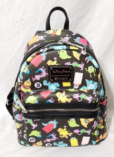 3de1a95b6fe  disney Disney Parks Loungefly Monsters Inc Mini Backpack Pixar Mike Sully  Roz Randall please retweet