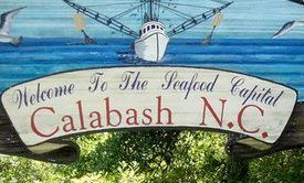 Calabash, North Carolina. Went to Calabash to buy fresh shrimp off the boats with my husband & son while on vacation at Myrtle Beach, South Carolina!