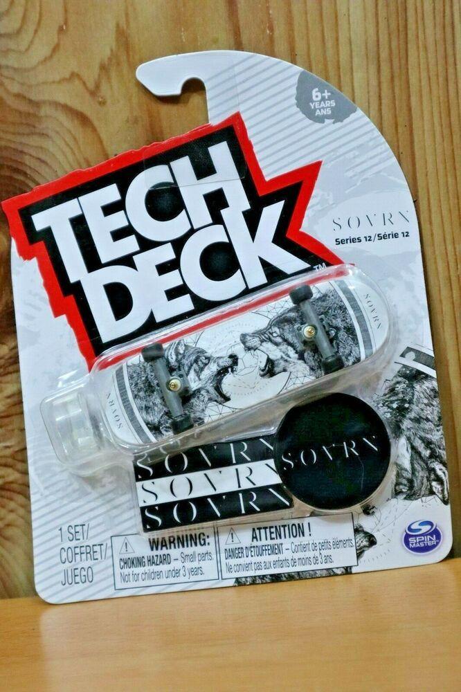 TECH DECK FINESSE SONIC THE HEDGEHOG Ultra Rare Series 12 Fingerboard Skateboard