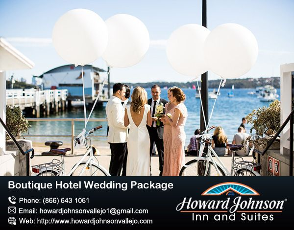 Howardjohnsonvallejo are offered Boutique Hotel Wedding Package, the Howard Johnson boutique is really the dream venue for wedding. https://goo.gl/gAUajv