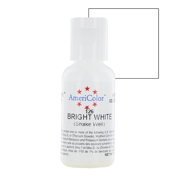 Bright White Gel Food Coloring Lorann White Food Coloring Coloring ...