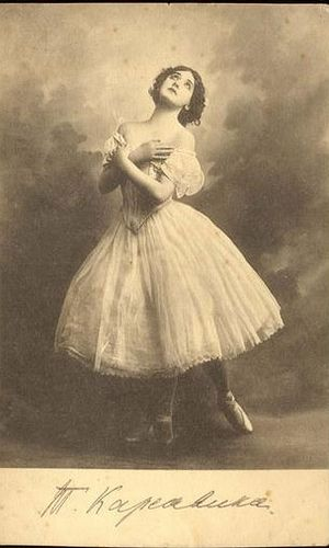 Tamara Karsavina ballet