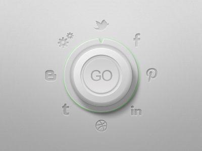 Socializer / #button / Damian Kidd
