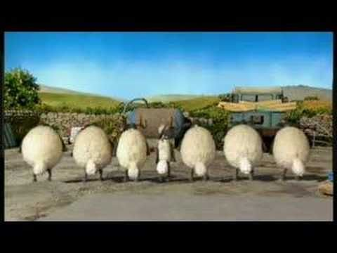 Shaun the Sheep and his flock show us how to Irish dance!