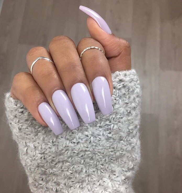 soft and violet