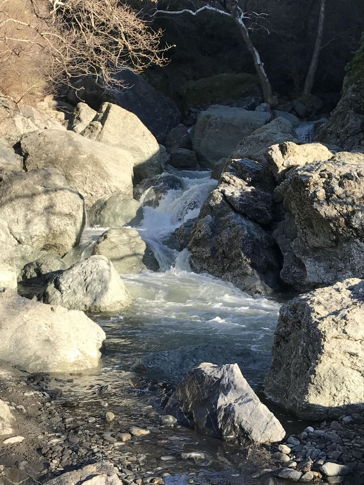 "This is what we refer to lovingly as the ""waterfall"" at Little Yosemite in Sunol Regional Wilderness in Northern California. We recently had some serious rainfall and this is the most water I've seen here in a decade. #hiking #camping #outdoors #nature #travel #backpacking #adventure #marmot #outdoor #mountains #photography"