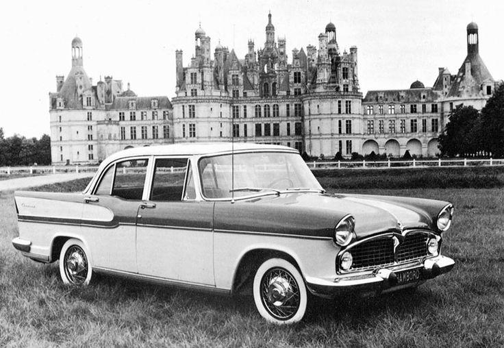 Simca Chambord - 1957 ✏✏✏✏✏✏✏✏✏✏✏✏✏✏✏✏ IDEE CADEAU / CUTE GIFT IDEA ☞ http://gabyfeeriefr.tumblr.com/archive ✏✏✏✏✏✏✏✏✏✏✏✏✏✏✏✏