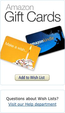 Add an Amazon Gift Card to Your Wish List
