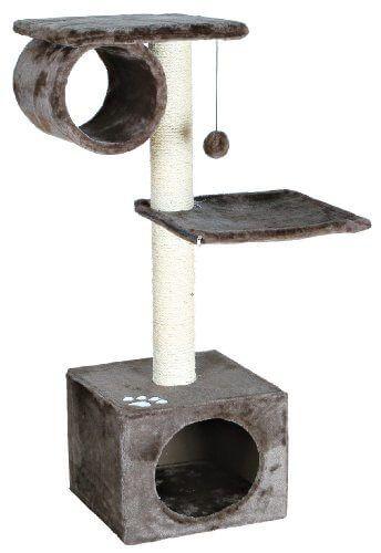 Trixie 43952 San Fernando Kratzbaum, 106 cm, platingrau - http://www.kratzbaum-bestellen.de/produkt/trixie-43952-san-fernando-kratzbaum-106-cm-platingrau/