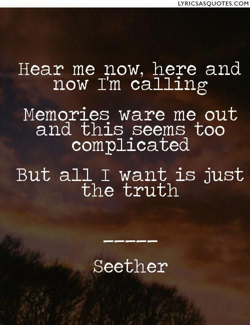 Here and Now, Seether