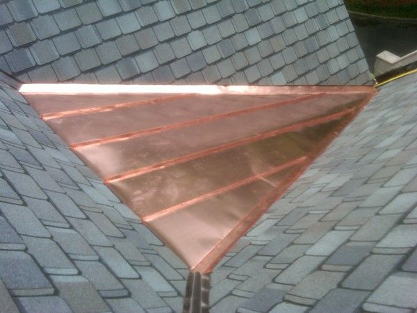 Copper Roof Cricket On Behance Copper Roof Copper Roof