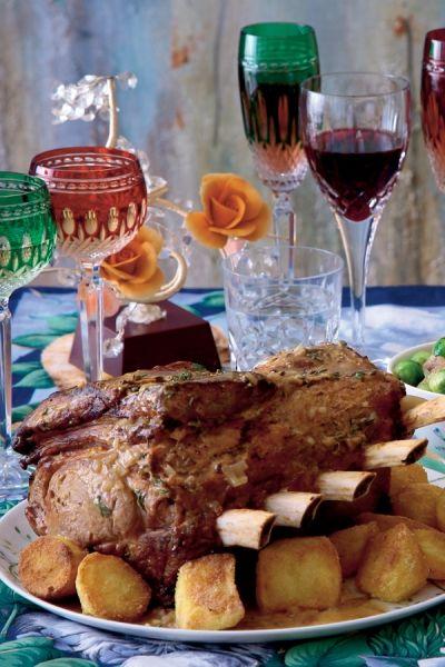 Recept In de oven gebraden kalfsrib met witte-wijnsaus | ELLE Eten
