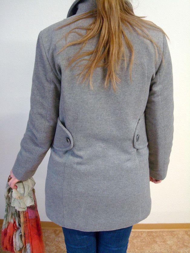 Kurzjacken - Schnittmuster Mantel Paula - ein Designerstück von Engels-Schnitt bei DaWanda