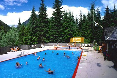 Canyon Hot Springs Campground, Revelstoke, B.C.