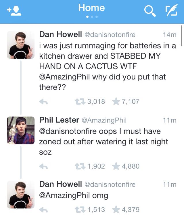 Dan and Phil are so funny