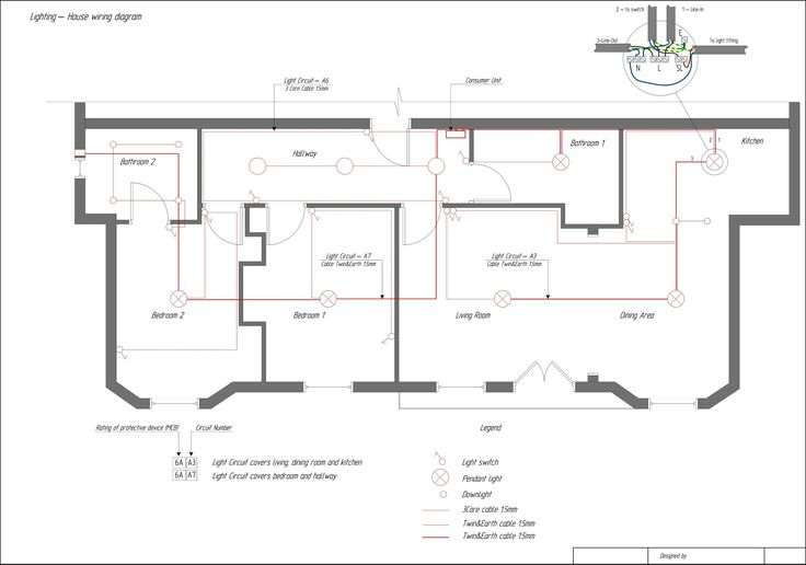 Domestic Electrical Wiring Tutorial Diagram Collection
