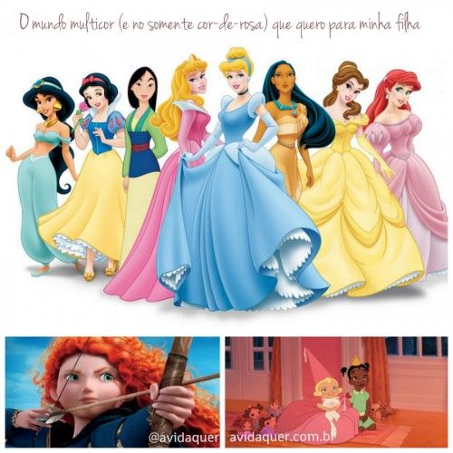 Research on princess impact on children-text in Portuguese