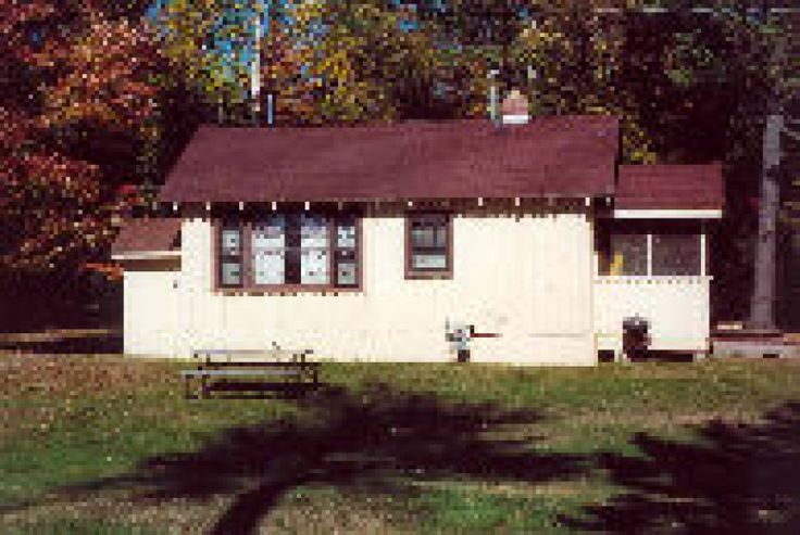 Tepee cabin is on big st germain lake it is listed by for Fishing cabins in wisconsin