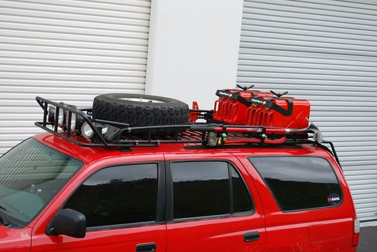 4runner roof rack with Jerry Cans 4runner, Toyota