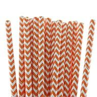 Eco-Friendly+Lovely+Chevron+Paper+Straws+18+Colors+Paper+Drinking+Straws+for+Halloween+Party+(25+PCS)+–+CAD+$+9.41