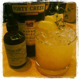 'Forty Creek Apple Smash' by justcocktails.org on DrinkWire