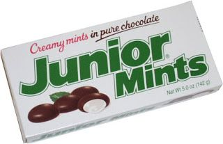 Dying for Chocolate: Junior Mints Cheesecake, History & More: Chocolate Mint Day