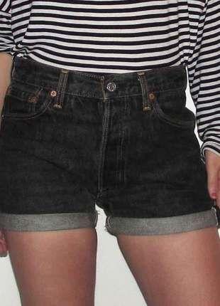 Compra mi artículo en #vinted http://www.vinted.es/ropa-de-mujer/pantalones-cortos-and-shorts-denim-shorts/116622-shorts-levis-501-negros-vintage                                                                                                                                                                                 Más
