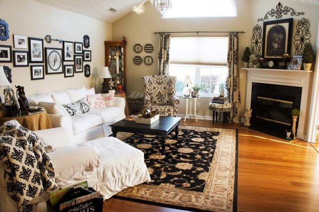 Wohnzimmer im Landhausstil gestalten \u2013 55 gemütliche Ideen
