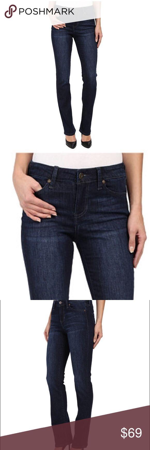 Liverpool Sadie Straight Liverpool straight leg jean in dark denim. Liverpool Jeans Company Jeans Straight Leg