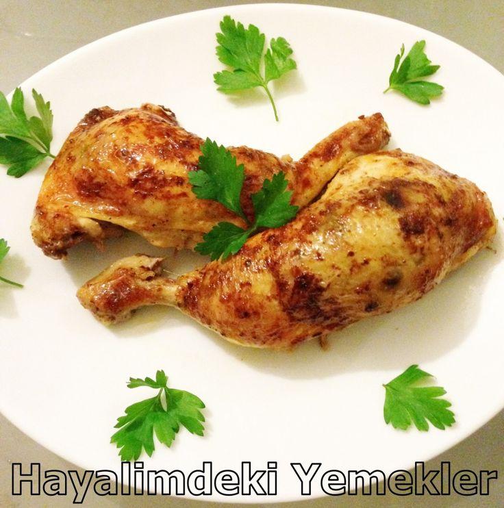 Fırında Tavuk Budu Dolması