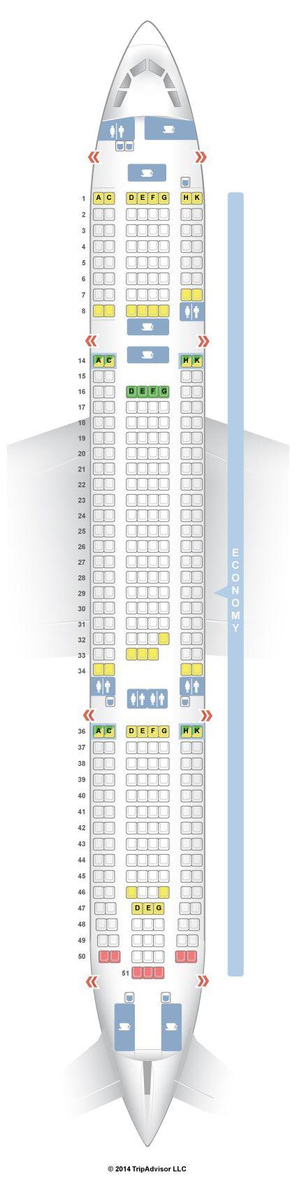 SeatGuru Seat Map airberlin Airbus A330-200 (332)