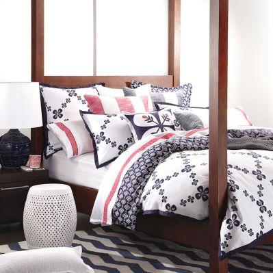Fable Navy Quilt Cover Set by Royal Doulton | shopinside.com.au