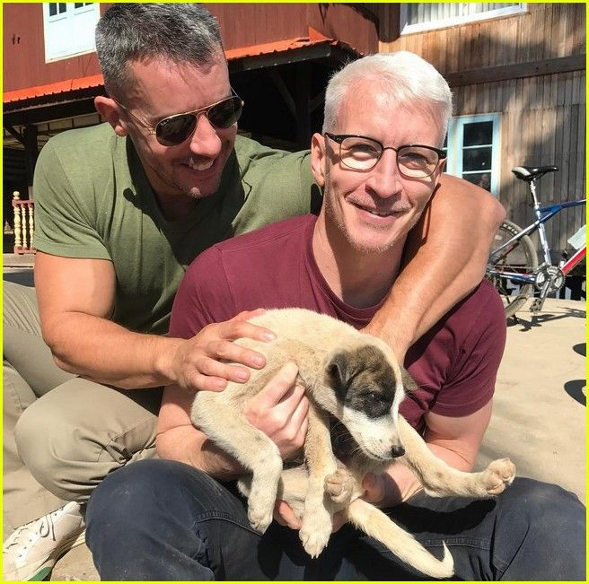 Anderson Cooper Shares Cute Moment with Partner Benjamin Maisani in Myanmar!: Photo 3832549 | Anderson Cooper, Benjamin Maisani Pictures | Just Jared