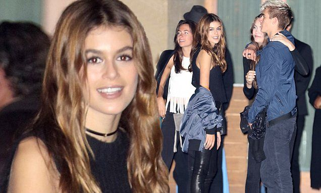 Their mother is legendary model Cindy Crawford. So it's fitting that Kaia and Presley Walker Gerber were the epitome of cool kids about town when they stepped out in LA on Thursday.