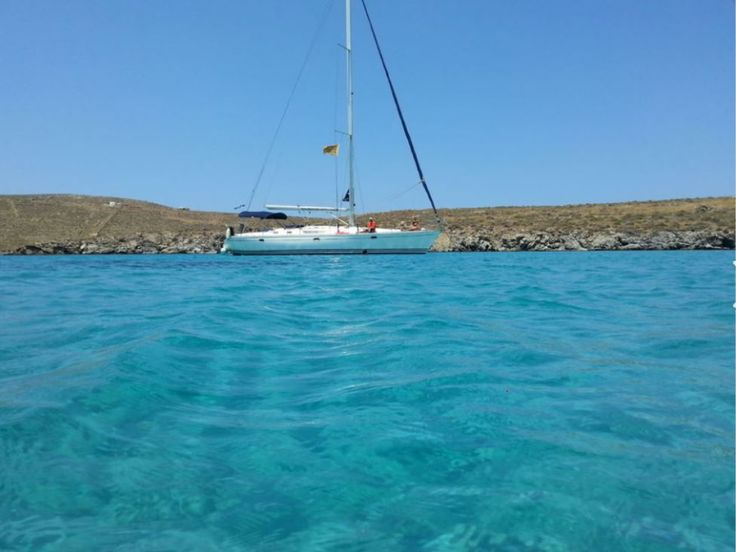 You can reach Rhenia Island only with your own boat or with an organized day trip from Mykonos. Where is Rhenia Island in Greece - Double Click on the photo for more information. #Mykonos www.guidora.com/blog