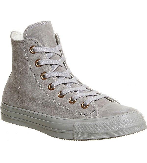 CONVERSE - All star hi suede sneakers | Selfridges.com