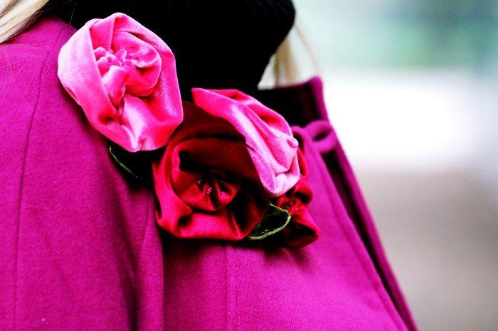 #abrigofauske #abrigomagenta #aw15 #modainvierno #abrigo2015 #coat